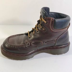 Vintage Dr Martens 8640 Brown Leather Ankle Boot 8
